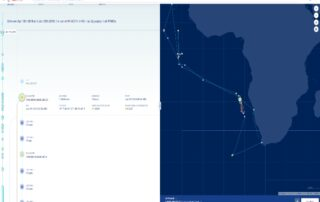 Transshipment Portal Shows Carrier Vessels Loitering in Waters off West Africa