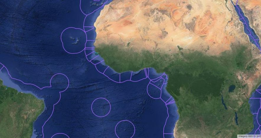 EEZ Africa and Atlantic
