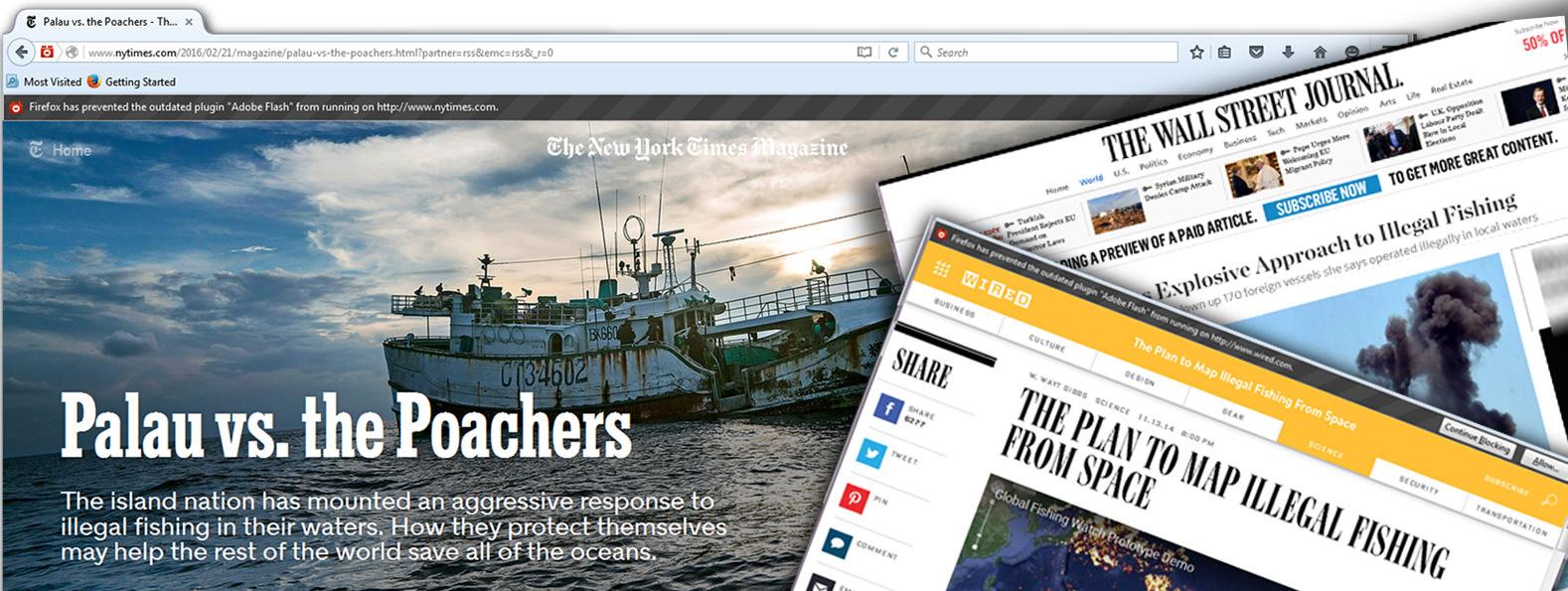 Global Fishing Watch publications