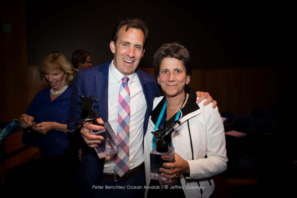 Global Fishing Watch Research Partners Dr. Chris Costello and Dr. Barbara Block
