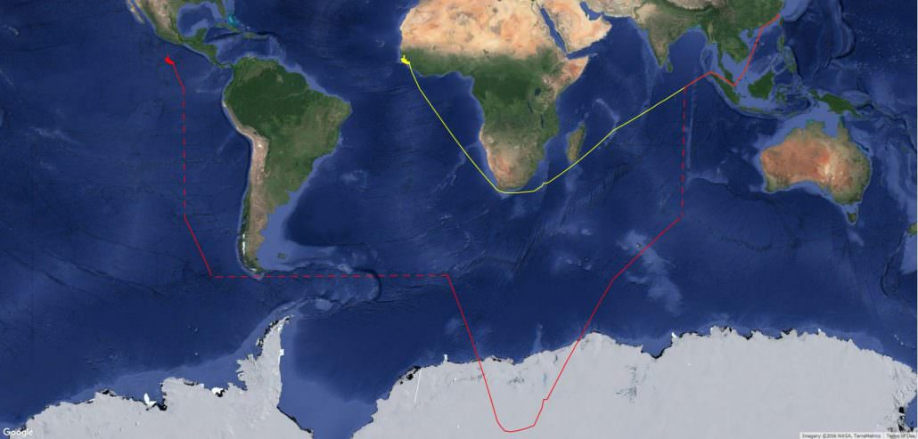 Fu Yuan Yu 359 corrected google satellite background
