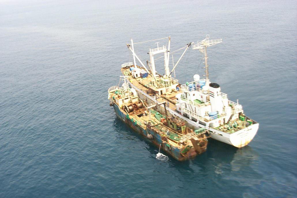 Vessel Rendevous Coast of Sierra Leone