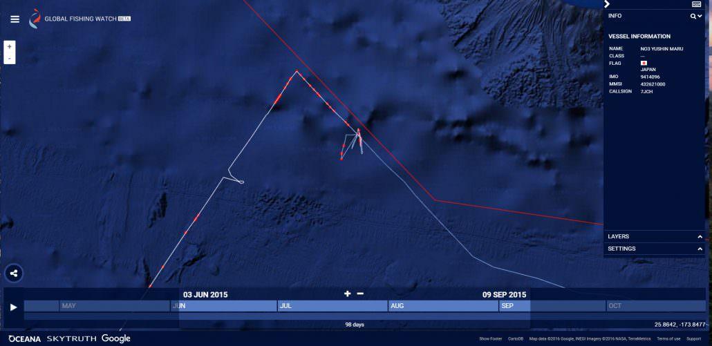 Yushin Maru close to MPA
