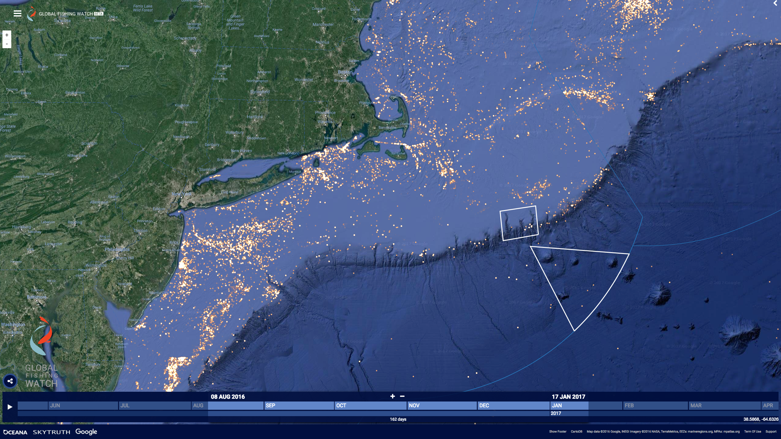 North East Seamounts and Canyons