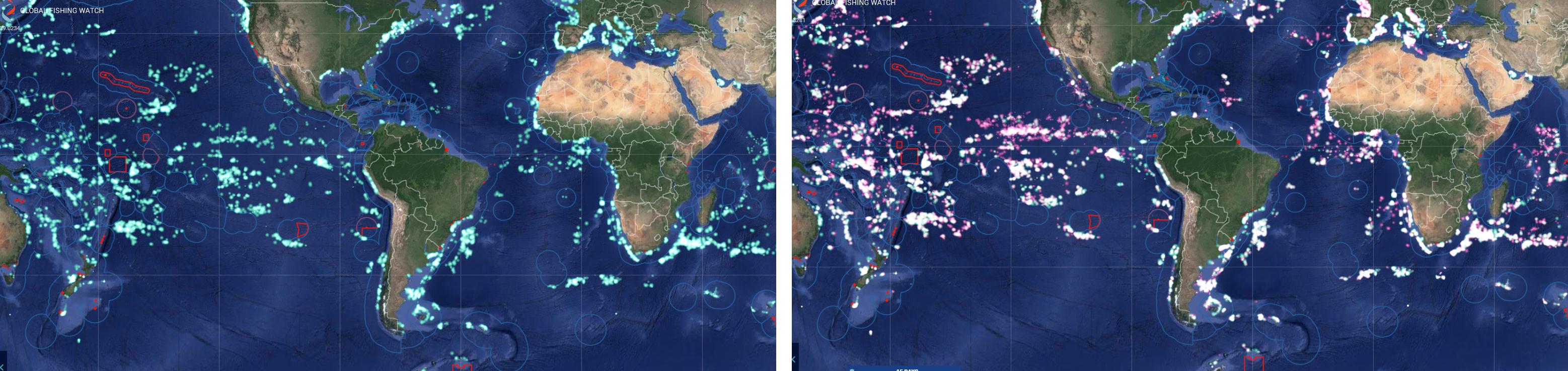 Fishing data