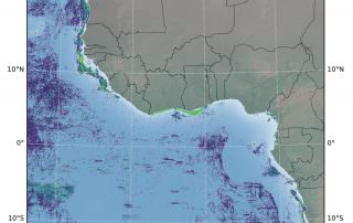 Global Fishing Hotspots West Africa