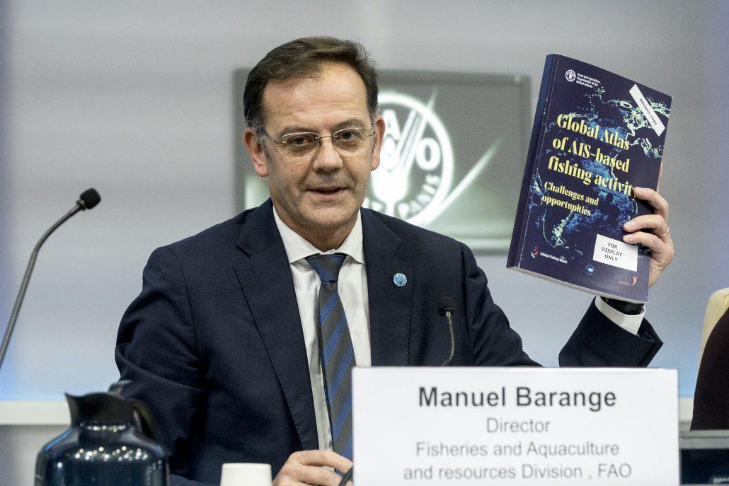 Manuel Barange - FAO Global Atlas Side Event