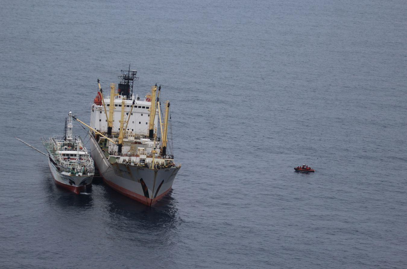 FV Lurong Yuan Yu 899 transshipment Pamyat Kirova