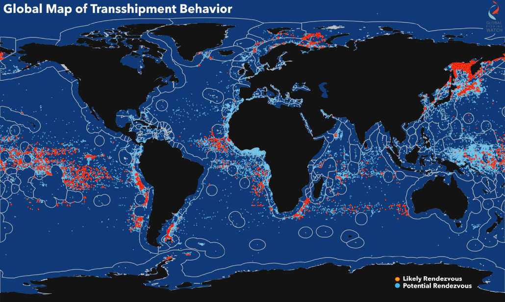 Global Map of Transshipment Behavior-Aug2017
