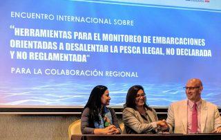 Encuentro internacional sobre herramientas para el monitoreo de embarcaciones orientadas a desalentar la pesca ilegal, no declarada y no reglamentada
