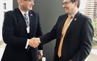 Global Fishing Watch CEO, Tony Long, meeting with Canada's Minister of Fisheries, Oceans and the Canadian Coast Guard, Jonathan Wilkinson ahead of the G7 Ministerial meeting