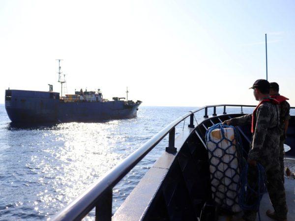Interception of MV NIKA