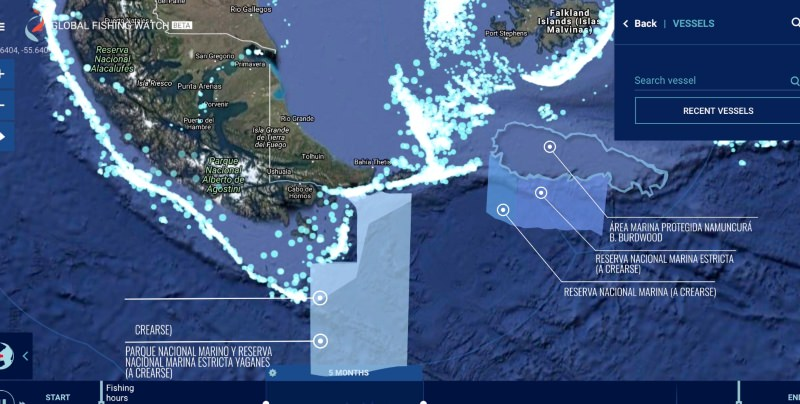 Global Fishing Watch data key to MPA victory in Argentina