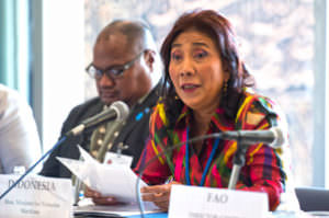 Minister Pudjiastuti of Indonesia