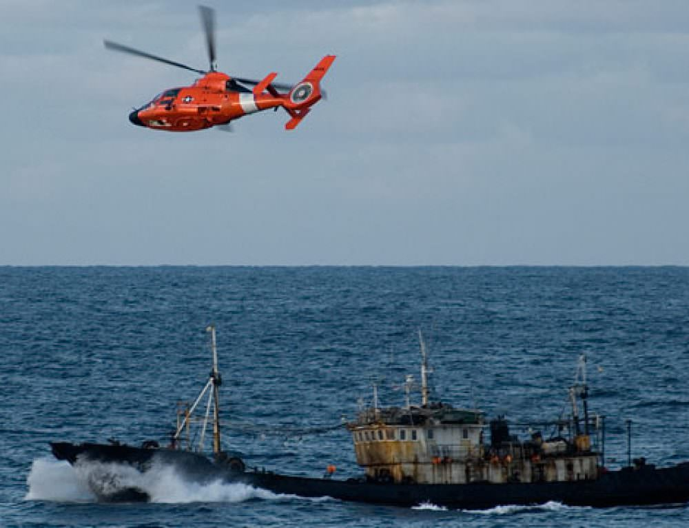 Global Fishing Watch and U.S. Coast Guard look to advance research on illegal fishing
