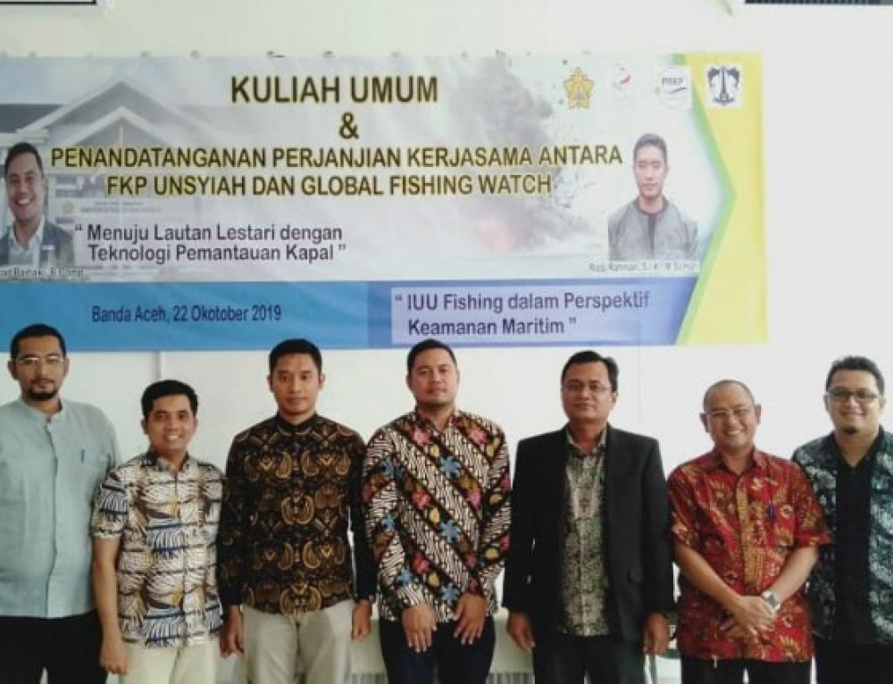 Global Fishing Watch and Syiah Kuala University collaborate on fishing vessel data transparency