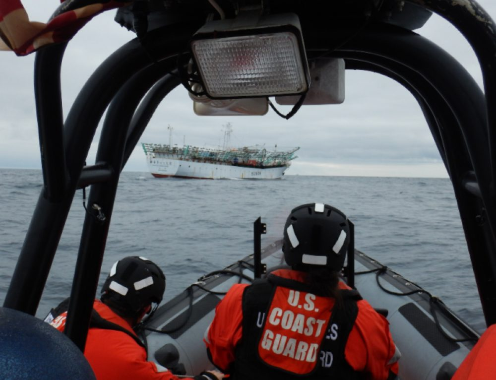 On the frontline against illegal fishing in the world's biggest ocean