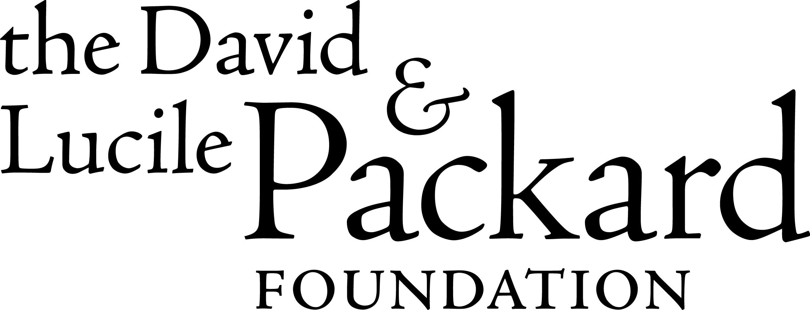 The David & Lucile Packard Foundation Logo