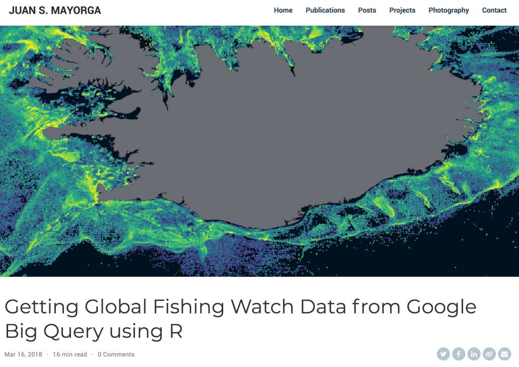 Accessing GFW Data in BigQuery Using R - Global Fishing Watch