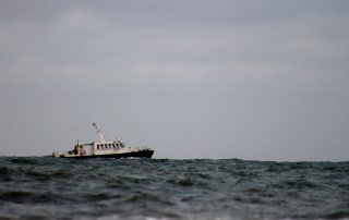 Vessel track